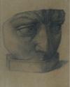 Dávid (részlet) 1964 cerúza papír 37x28cm (gipszmásolás Baráth Józsefnél)
